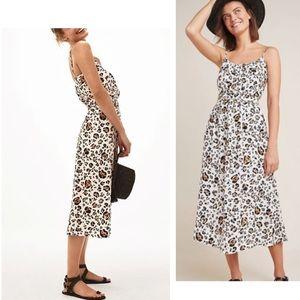 Anthropologie Arabella dress animal print 🌟🌟